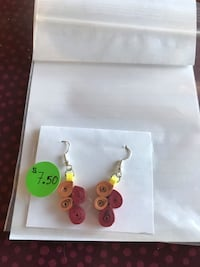 Quilled earrings  554 km
