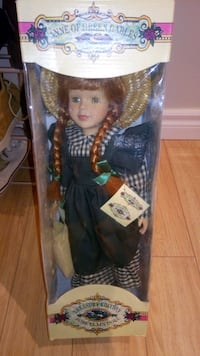 Anne of green gables porcelain doll Barrie, L4M 6S8