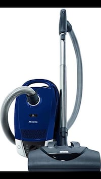 blue and black canister vacuum cleaner New Westminster, V3L 0E3