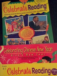 New Creative Teaching Press Celebrate Reading 12 books for 12 holidays grades K-3 Columbia, 21045