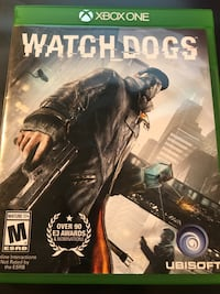 Xbox One Watch Dogs game case