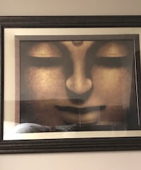 "Framed Buddha Picture (36.5"" x 46.5"") Toronto, M6S 5A4"