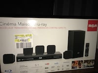 black RCA home theater system box Cape Coral, 33914