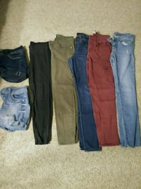 Size 9 pants and shorts