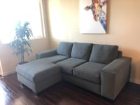 Reversible L couch grey Los Angeles, 90036