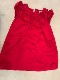18 m girls  red sleeveless dress Germantown, 20874