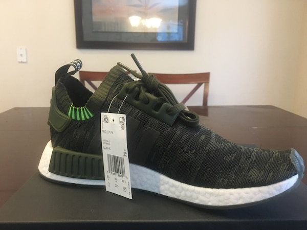 new style 6d108 fe242 Adidas NMD R1 Primeknit Shoes NEW