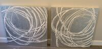 Two canvas painting from ZGallerie Bethesda, 20814
