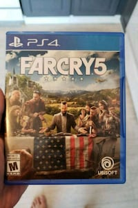 Sony PS4 Farcry 4 game case Calgary, T3K 2K1