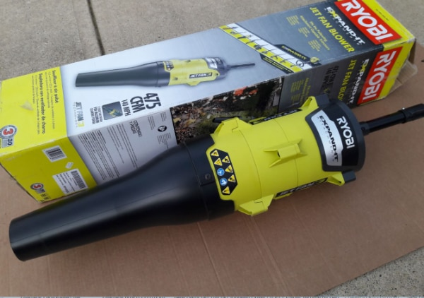 New Ryobi Blower Expand-It Attachment for Weedeater / String Trimmer