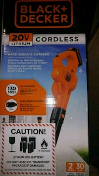 Black & Decker 20v surface sweeper Concord, 28027