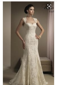 Ivory Lace Wedding Dress Size 10 - NEVER WORN, TRIED ON, or ALTERED Plymouth, 48170