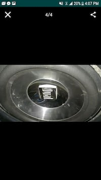 black and gray MTX Audio subwoofer Bakersfield, 93304