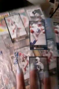 A TON of sports cards!!!