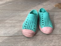 Native Shoes Kids Teal and Pink Central Okanagan, V1Z 1T8