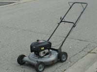 """SELLING TODAY MULCHER 21"""" CRAFTSMAN LAWNMOWER 6.0HP, BRIGGS AND STRATTON ENGINE 4 STROKE GAS WITH NO REAR BAG! Mississauga"""
