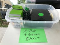 Xbox console and games Lake Worth, 33467