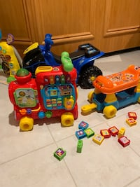 VTech sit to stand alphabet train   Mississauga, L4W 3A2