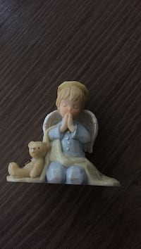white and brown ceramic figurine Barrie