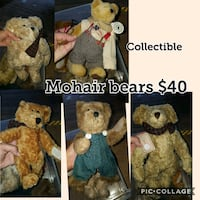 Mohair teddy bears collectables Theodore, 36582