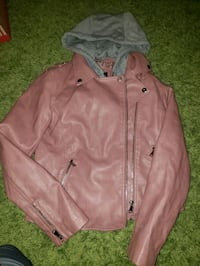 Pink leather jacket  New Westminster