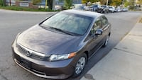Honda - Civic - 2012-Low kms Toronto