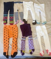 Baby girl assorted stockings tights 3-12 months Kelowna, V1W 3H8