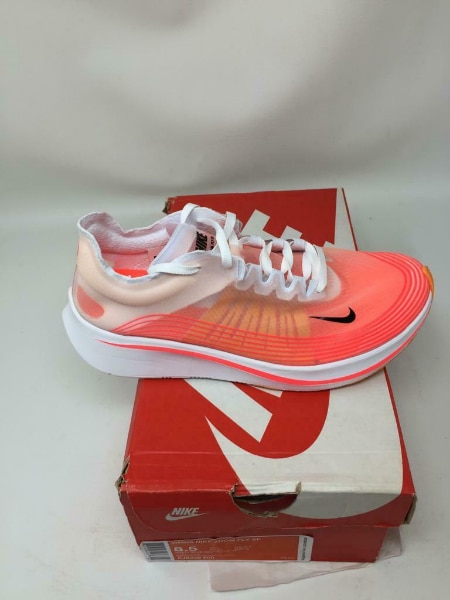 nike zoom fly all red shoes