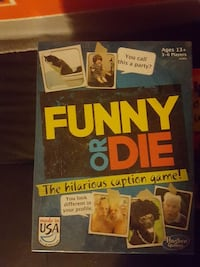 Funny or Die board game box Manalapan Township, 07726