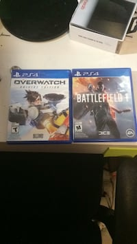 two Sony PS4 game cases Saskatoon, S7N 1E5