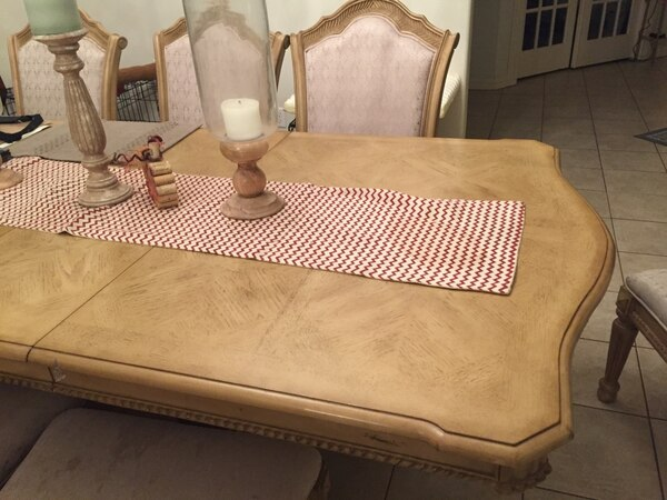 Beautiful formal dining room table