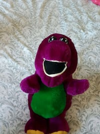 green and pink frog plush toy Toronto, M3L 1S3