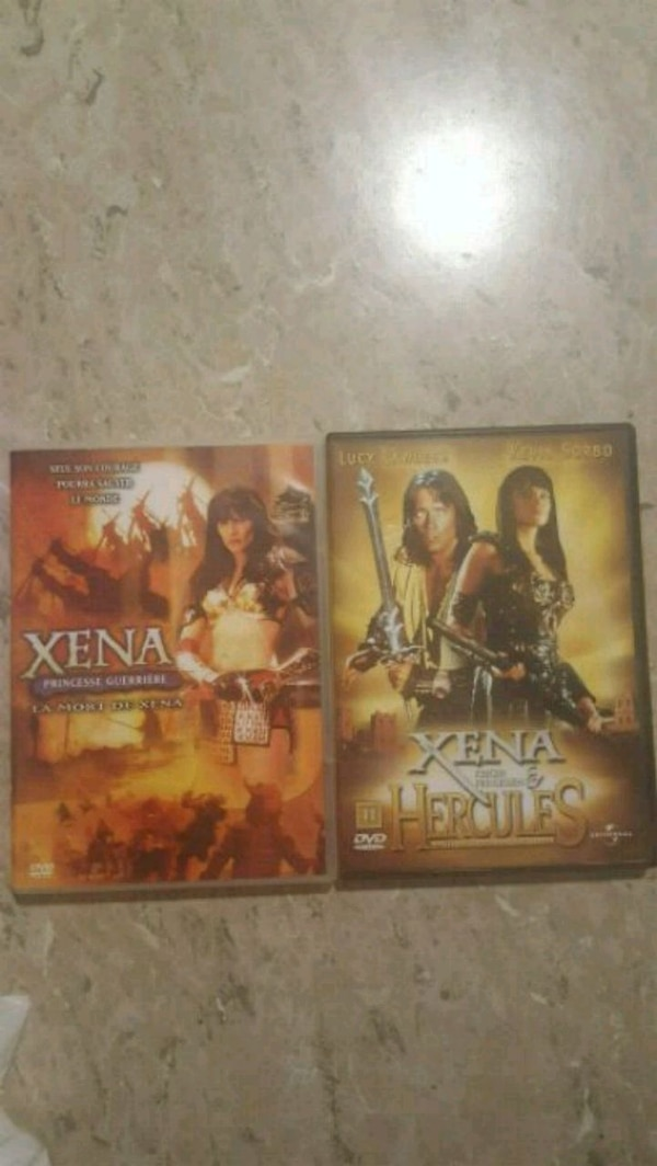 Xena/Hercules crossover collection and Xena Finale