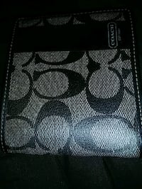 black and gray Coach monogram wallet Silver Spring, 20902