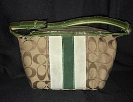 Authentic Coach small clutch bag