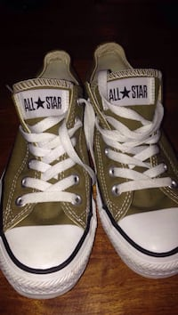 Converse all star kaki basse