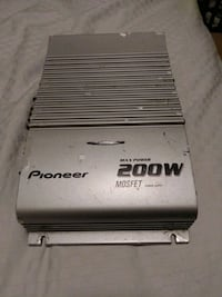 Pioneer max power 200w MOSFET amplifier