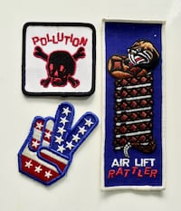 Cool Vintage Patches - $10 each Bethesda, MD, USA