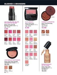 Blushes and bronzers 3144 km