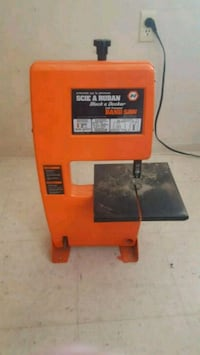 Drill powered bandsaw