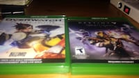 two Xbox One game cases Calgary, T3K 1V6