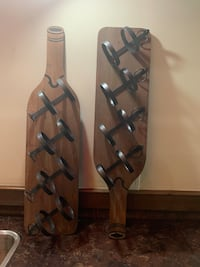 4 Bottle wall mounted Wine rack (2 available) Toronto, M9A 3G2