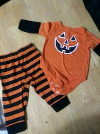 Baby 6-9 Month Halloween Outfit. Great condition worn once.
