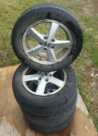 Honda 5 bolt Alloy Wheels  Orillia, L3V 6H1
