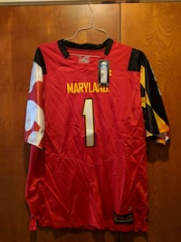 Under Armour Maryland Football Jersey