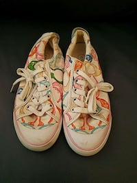 pair of white-and-pink Coach sneakers Fairfax, 22032
