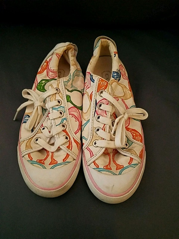 Coach sneakers, size 7-7.5
