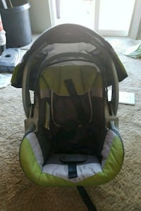 baby's black and green car seat carrier Surrey, V3W 6T8
