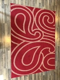 Red and beige  area rug غويلف, N1L 0L1