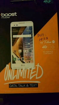 Boost Mobile LG Tribute cell phone Austin, 78725